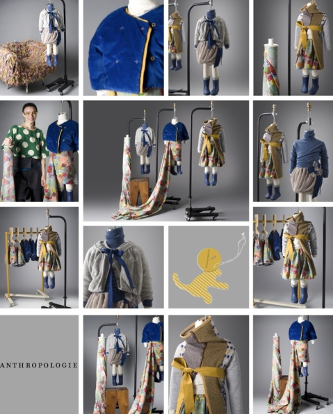 Anthropologie and Kicokids fall 2011, great chemistry!