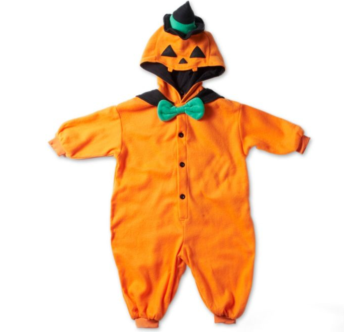 Kigu pumpkin costume at Selfridges