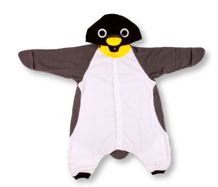 Kigu penguin costume at Selfridges