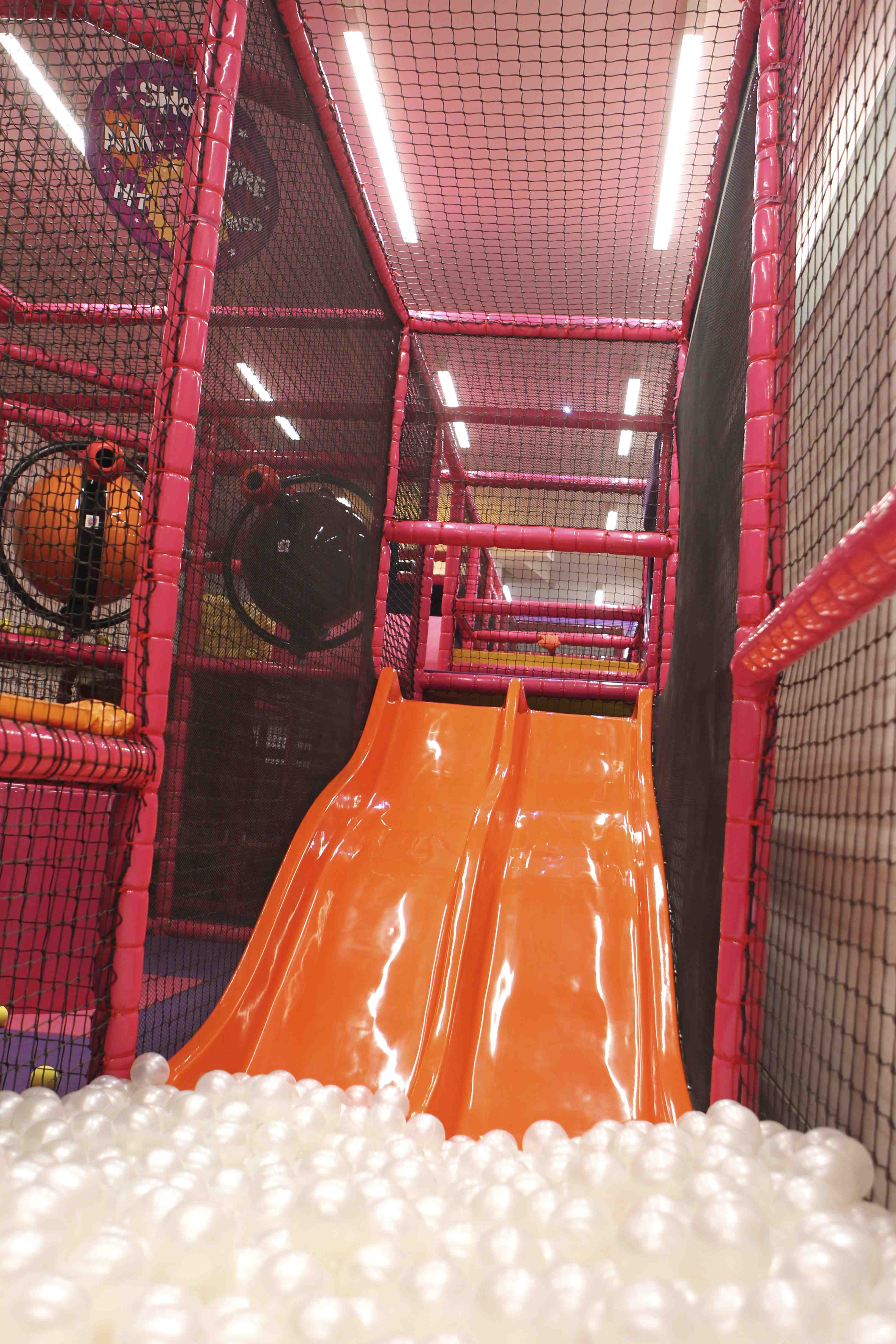 Soft Play - the ball pit at at Purple Dragon, Chelsea