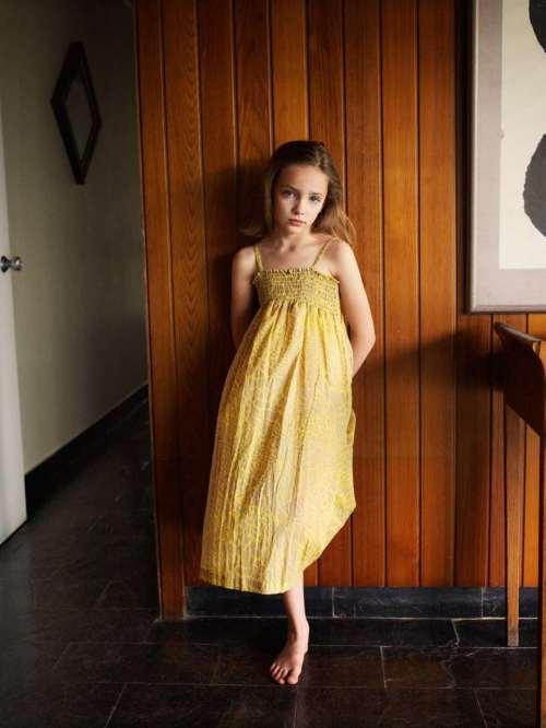 Long soft dress for girls from Finger in The Nose for summer 2012