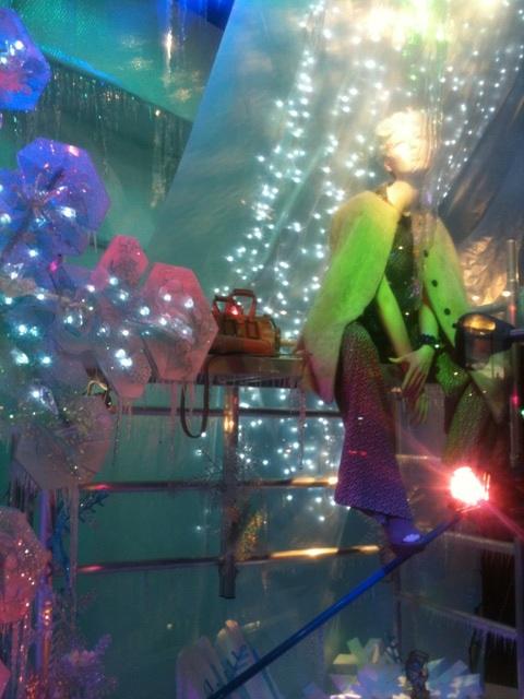 Harvey Nichols Christmas windows 2011