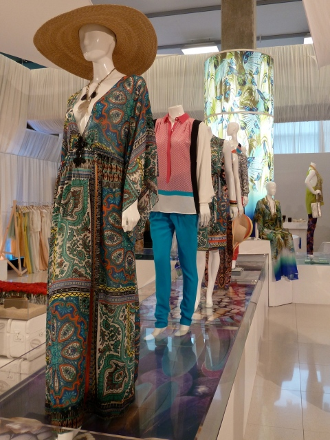 The womenswear had some striking dresses and kaftans for summer 2012 at Monsoon too.