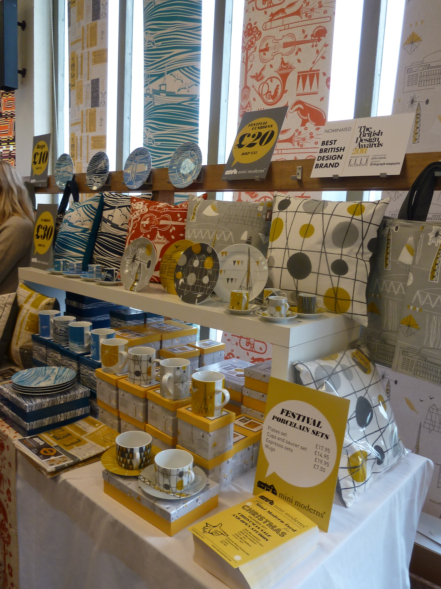 Mini Moderns had some good offers at the Midcentury Modern fair in Dulwich