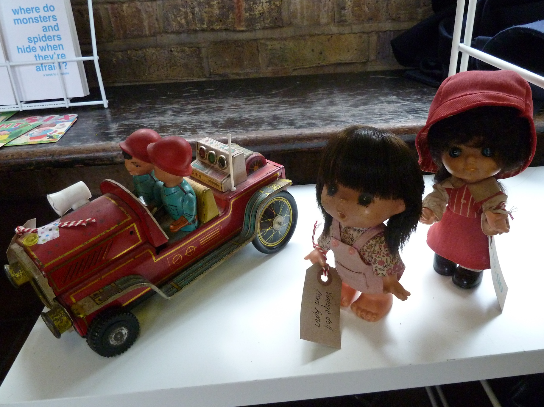 Molly Meg had sone great vintage toys including dolls from Japan at Midcentury Modern
