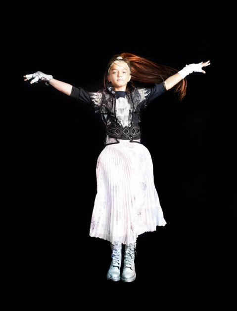 Callie as Night Owl, children's fashion story by Mindi Smith and Drew Sackheim Oct 2011