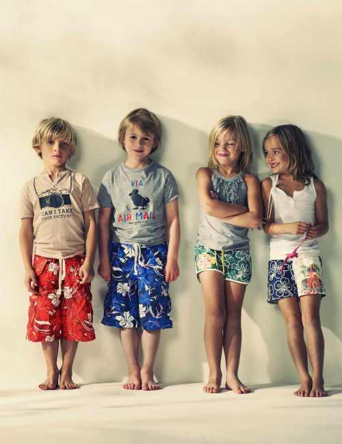 Surf style shorts, summer 2012 trends from American Outfitters