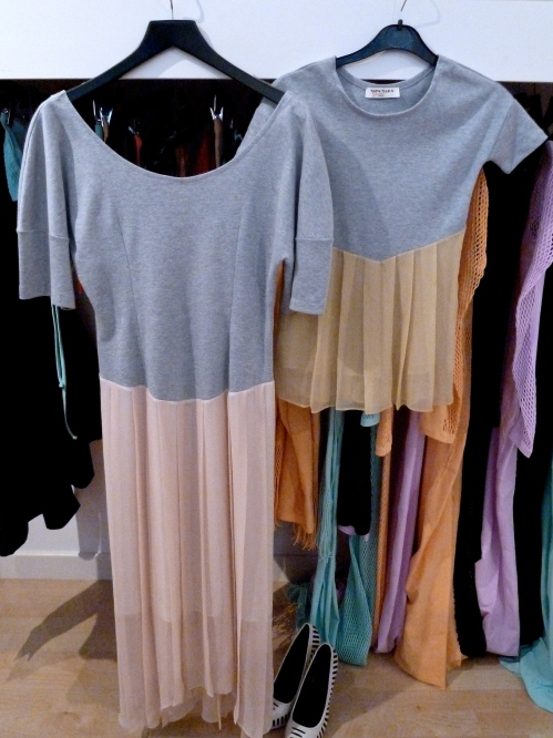 Tata Naka, Mum and child Mini Me dresses, just a slight colour variation for summer 2012