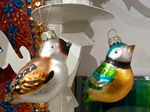 There are also traditional Christmas tree ornaments at Few and Far