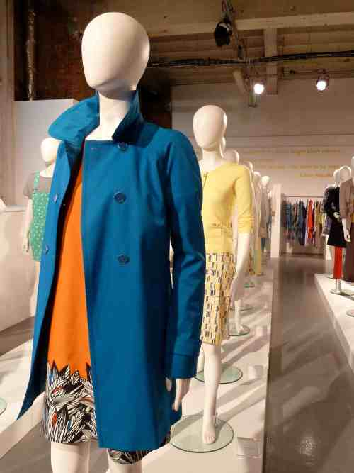 Cool womanswear in this summers hot shades of orange and blue at Debenhams for 2012