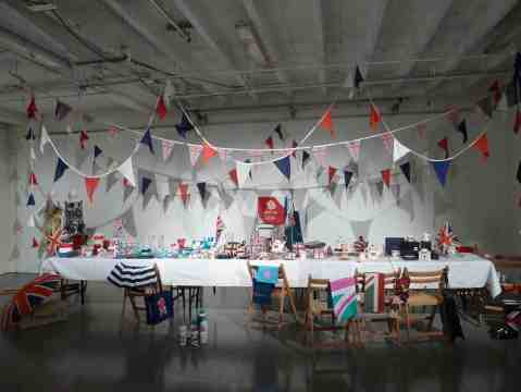 Its the Olympics and the Queens Diamond Jubilee next year so break out the street party gear, Debenhams did!
