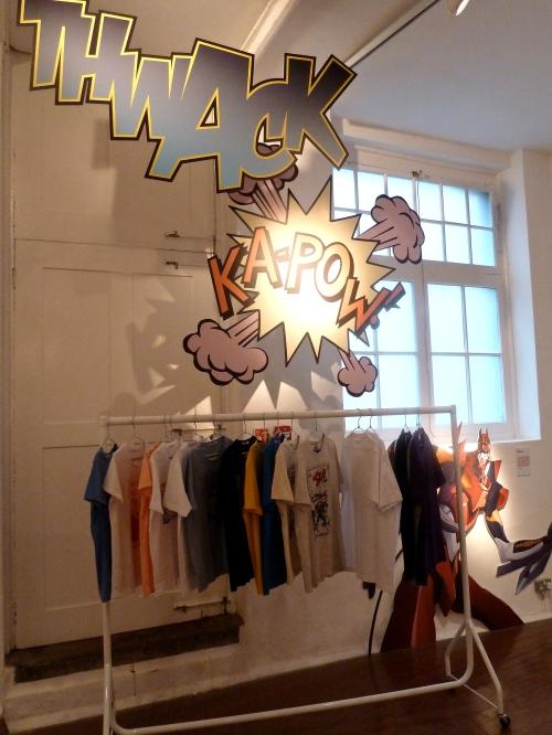 Superhero range for T-shirts for Uniqlo menswear summer 2012
