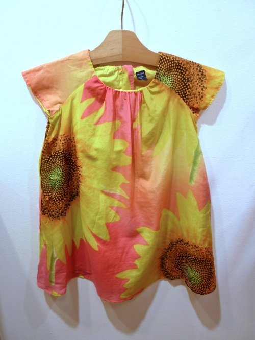 Great photoprint dresses for toddlers from Gap for spring 2011
