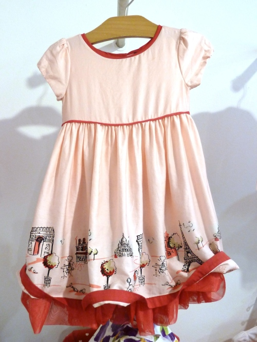 Sweetly retro 1950's Parisian theme for girls fashion at Gapkids spring 2012