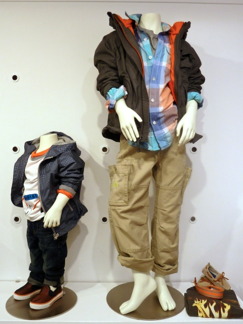 Boyswear has some strong graphic T-shirts and techno jackets for spring 2012 at Gapkids