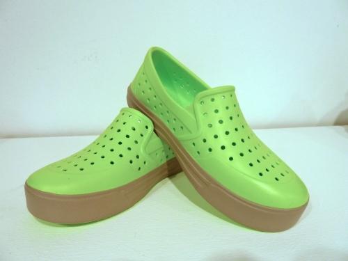 Simple lime green slip ons for Gapkids spring 2012