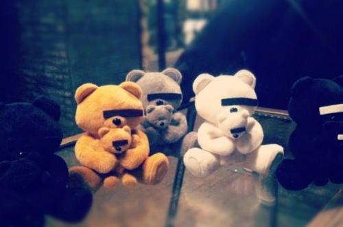 Undercover Rebel Plush Teddy Bear as seen on Hypebeast